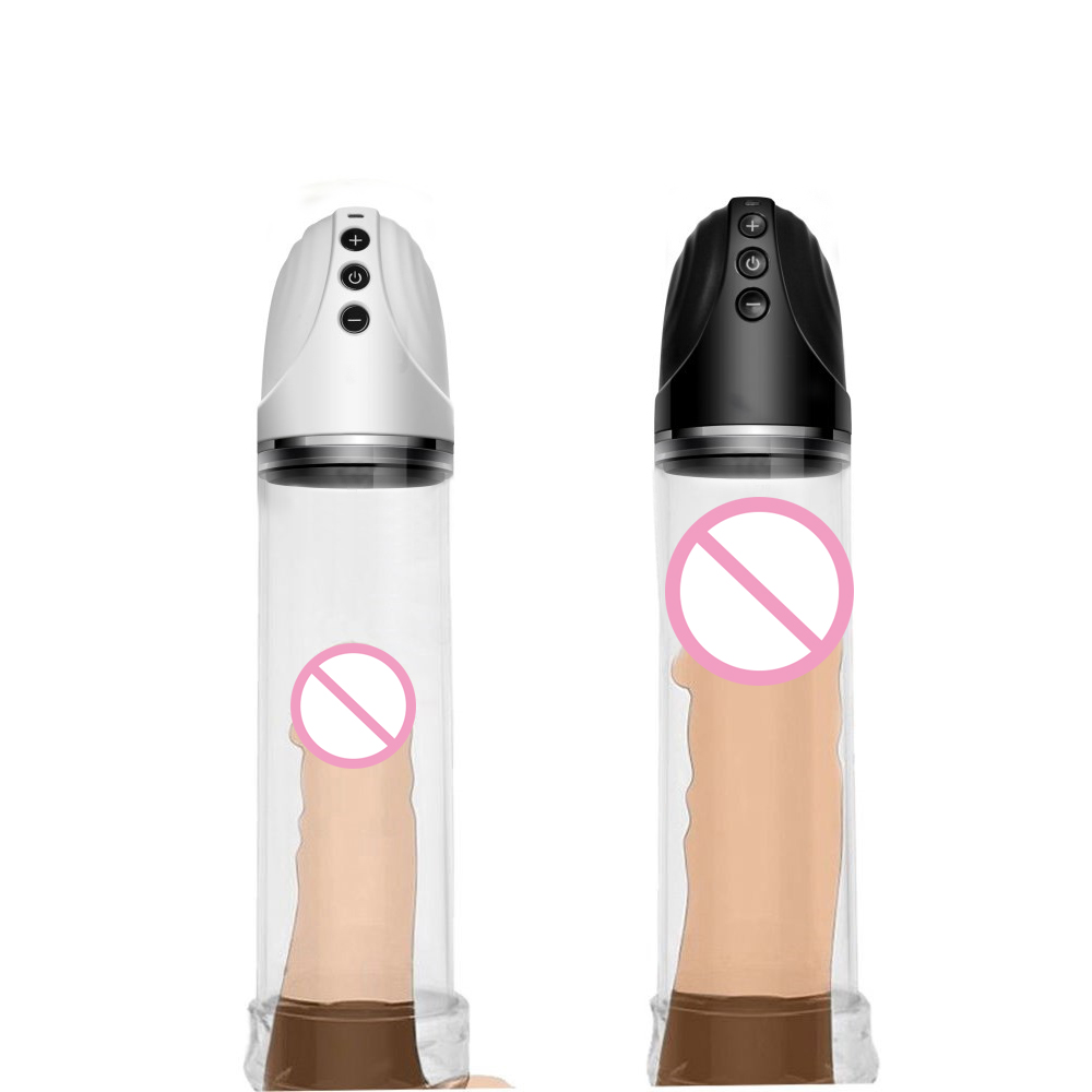 Male Usb Rechargeable Penis Pump Enlarger Automatic Penis Enlargement Enhancer Sex Toys For Men,Gays Electric Pro Extender wearable penis sleeve extender reusable condoms sex shop cockring penis ring cock ring adult sex toys for men for couple
