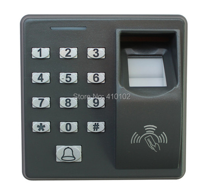 Biometric Fingerprint Access Control Machine Electric RFID Reader Scanner Sensor Code System For Door Lock