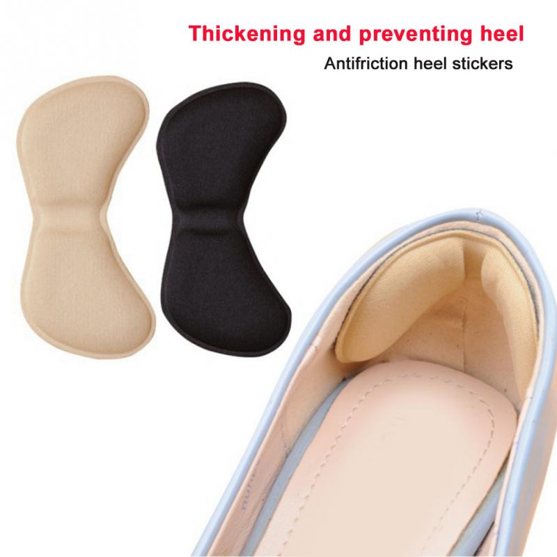 5 Pairs Feet Care Patch Pads Heel Liner Crash Heel Sticker Pain Relief Cushion Anti-wear Adhesive Insole Shoes Accessories