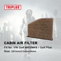 Cabin Air Filter For VW Golf MK5 Golf MK6 Golf Plus Golf 6 Variant 1pc Golf