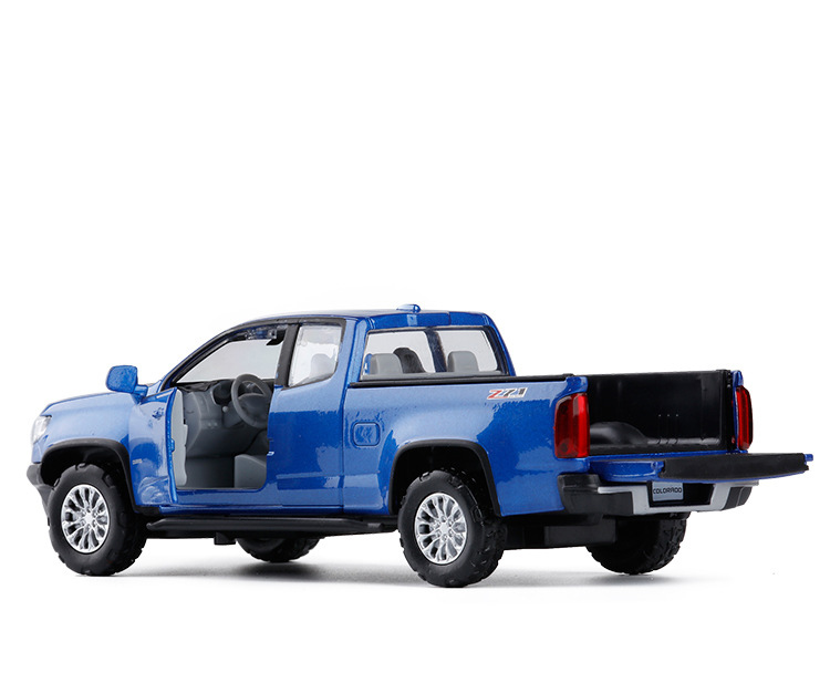 US $13 79 31% OFF|Alloy 1:32 Pickup Truck Pull Back Toy Cars Model  Collection Car with Sound Light Diecasts Vehicles Kids Gifts-in Diecasts &  Toy