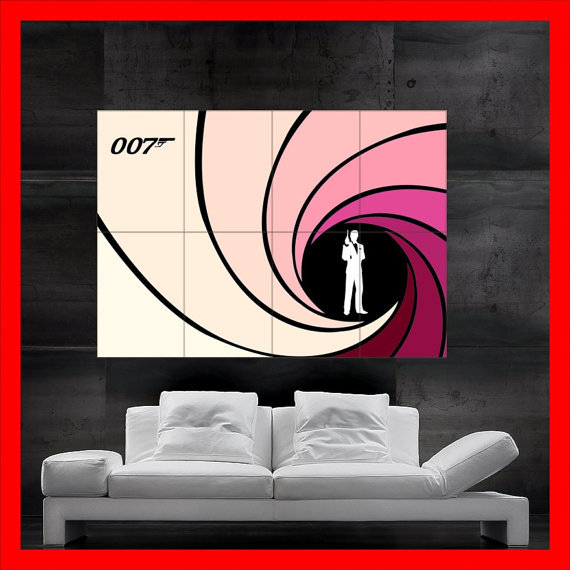 007 james bond poster kaufen billig007 james bond poster. Black Bedroom Furniture Sets. Home Design Ideas