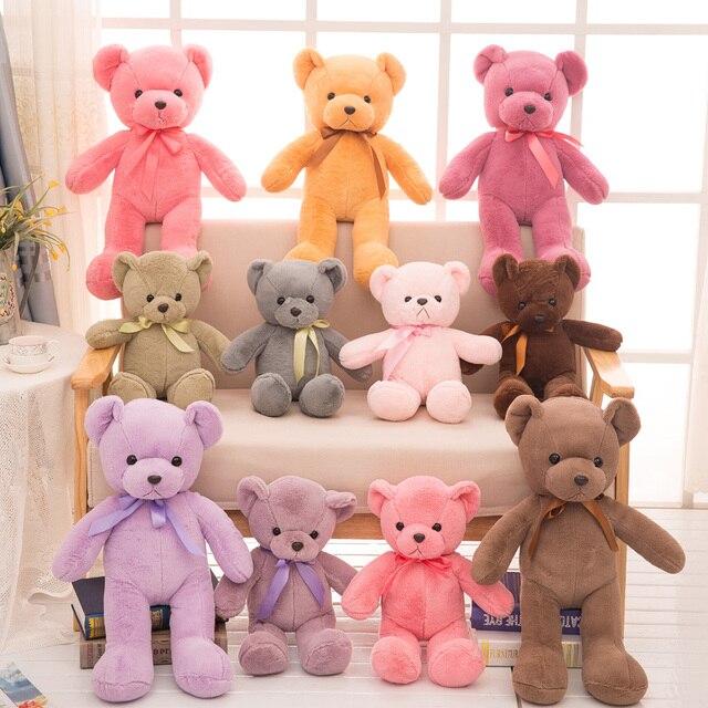 44f05bbf61b7 35cm 45cm 60cm Teddy Bear Soft Toys Dolls Kawaii Bear Plush Toys Giant Stuffed  Animals Toy Kids Christmas Gifts Brinquedos
