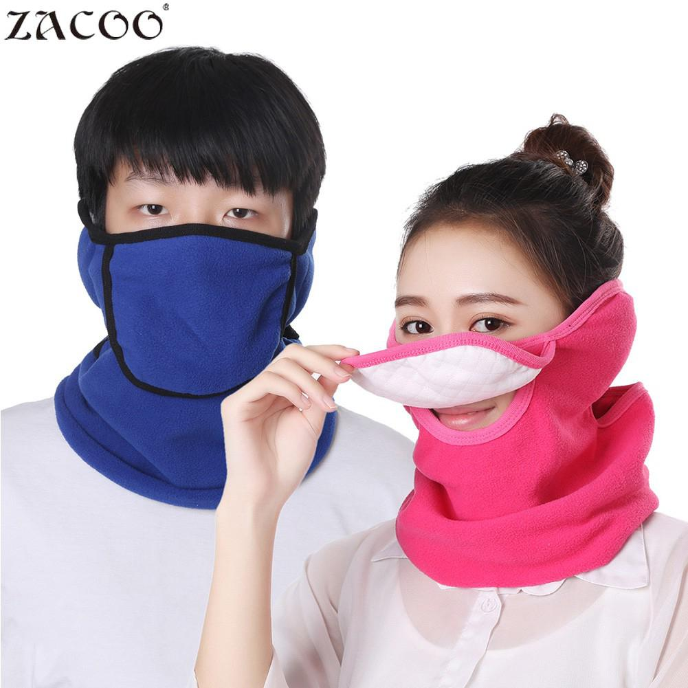 ZACOO 3 In 1 Outdoor Full Face Mask Neck Cover Earmuff Dustproof Warm Mask For Winter 2018 Winter New Design ANti-wind San0