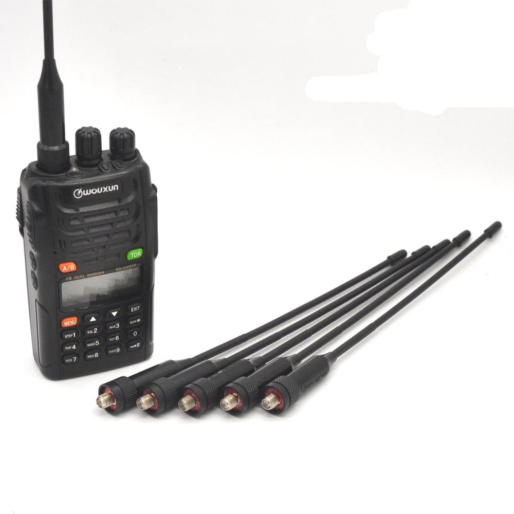 YIDATON izvorna gumena antena UHF VHF Dual Band 136-174mhz 400-470mhz - Voki-toki - Foto 6