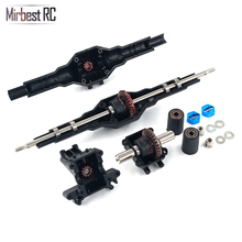 Mirbest RC DIY Parts For Wltoys 12428 12423 car parts Metal gear differential Dave box Upgrade accessories