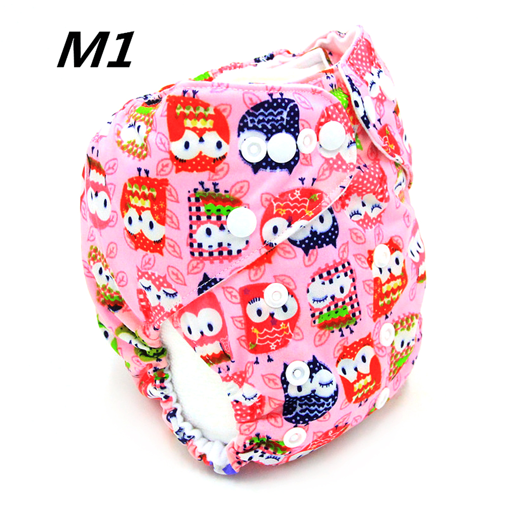 2 Layer Baby Cloth Diaper One Size Reusable Washable Pocket Nappy Flying Feather