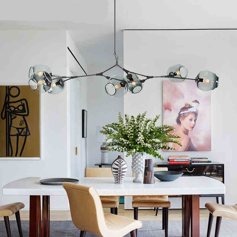 e27 Modern Nordic Industrial Pendant Lights Black Gold Bar Stair Dining Room Glass Shade home decoration Pendant Lamp Fixtures vintage loft industrial pendant lights black gold bar stair dining room shade suspension luminaire led pendant lamp fixtures