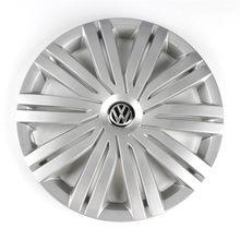 Оригинальный производитель, 1 шт., хромированный, 415 мм, 41,5 см, задняя крышка с логотипом, эмблема на замену для VW Volkswagen Polo 2017, 6RD, 601, 147 H