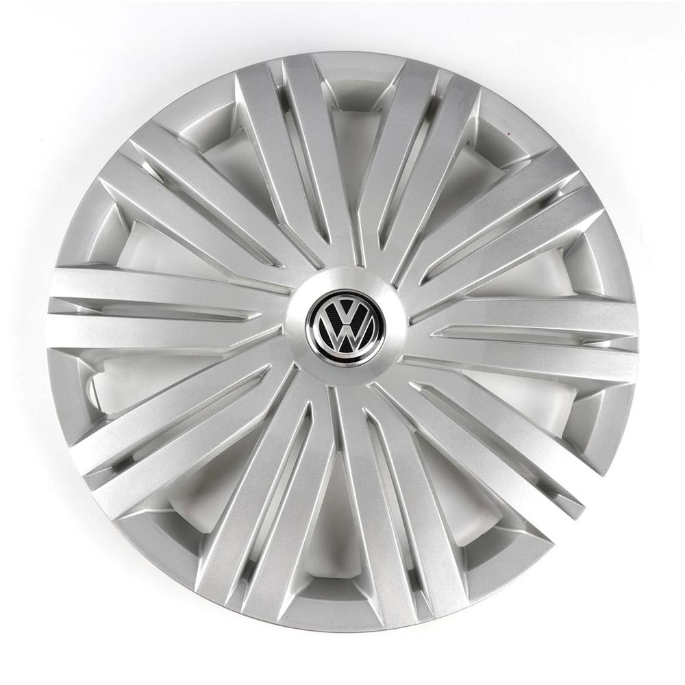 OEM хром 415 мм 41,5 см колпак ступицы центра колеса крышка логотип эмблема Замена для Фольксваген Поло 2017 6RD 601 147 H