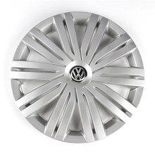 OEM Chrome 415mm 41.5cm Wheel Center Cap Hub Cover Logo Emblem Replacement For VW Volkswagen Polo 2017 6RD 601 147 H 4pcs 70mm wheel center hub cover cap for volkswagen vw touareg 7l6 601 149 b rvc