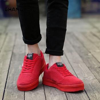 Zapatos de lona de alta calidad Casual hombres vulcanizar zapatos moda cómodo hombres zapatillas 2018 calzado de invierno zapatos para hombre negro
