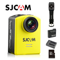 Frete Grátis!! M20 Original SJCAM Wifi Gyro Ação Capacete Esportes DV Camera + Dual Charger + Extra 1 pcs Bateria + 32 GB Cartão SD