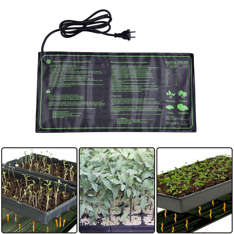 Waterproof Seedling Heat Mat Plant Seed Germination Propagat