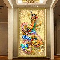 DIY 5D Sale Diamond Embroidery Diamond Mosaic Full Descents Of The Dragon Diamond Painting Cross Stitch
