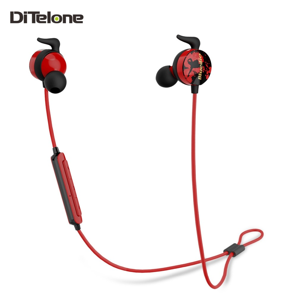 Bluedio Ai Bluetooth Earphones Wireless Sports HIFI Bass Stereo In-ear Headsets MIC Ear Hook DSP Noise Cancelling IOS Android 2016 white and black joway h 08 wireless noise cancelling voice control sports stereo bluetooth v4 0 earphones with microphone