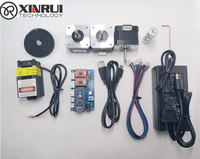 laser engraving machine parts,2 axis control baord+step motor+12V3A power supply+belt+gear+USB wire+500mw laser
