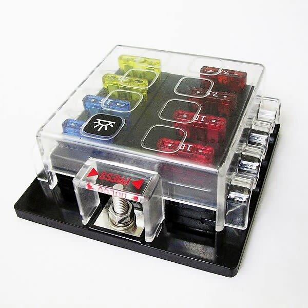 Car Fuse Box Wiring Wiring Diagram