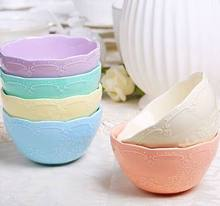 FREE SHIPPING ceramic bowls 5pcs The butterfly embossment bone China salad bowls S/L