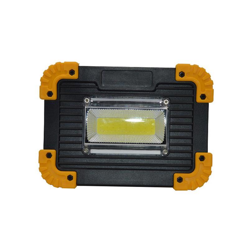 20 w 1200lm RGW LED Spotlight 18650 ou AA Batterie Alimenté Portable Camping En Plein Air Lumière de Travaux D'urgence Projecteur Lampe