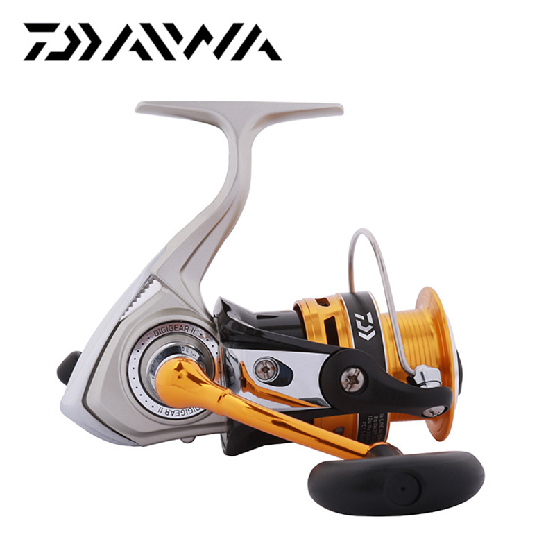 Daiwa CREST A Spinning Reel 2000A 2500A 3000A 4000A Spinning Fishing Reel 5.3:1 Gear Ratio 3+1BB Front Drag Carp Fishing reel цена