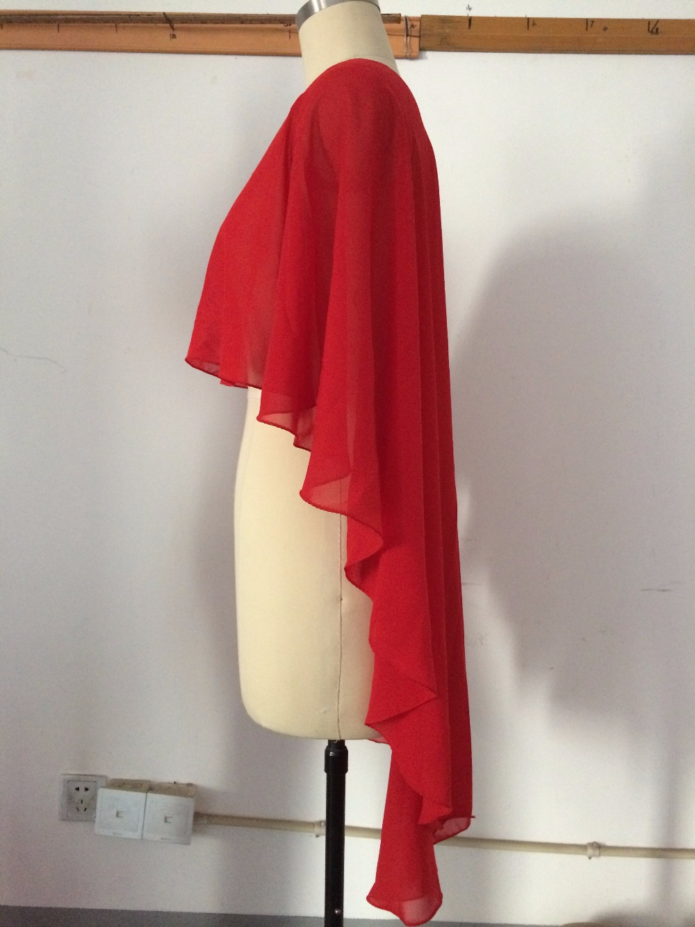 9f51bceffbd8 Nice Wedding Wraps Evening Shawl Green White Red Chiffon Evening Casual  Wrap Jacket (More Colors) Plus Size Bolero Jacket-in Wedding Jackets / Wrap  from ...