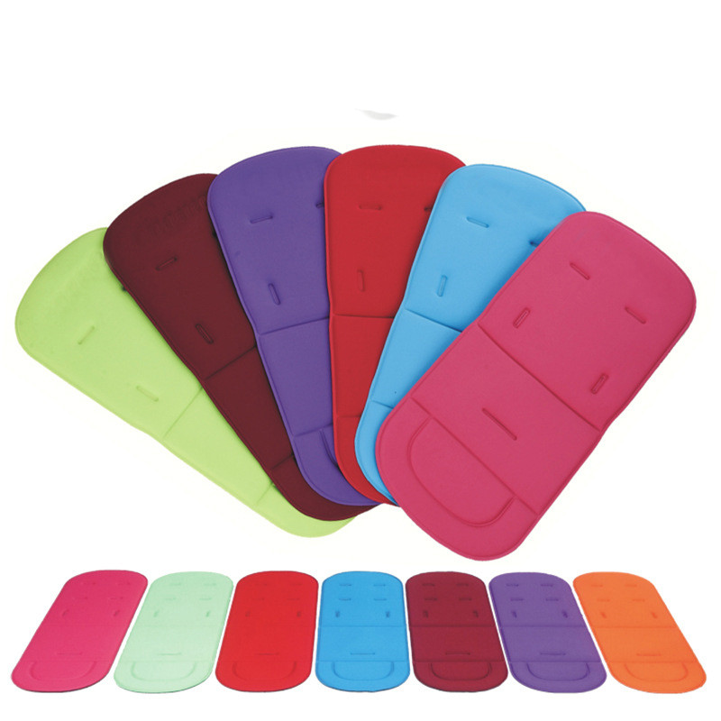 Universal New Arrival Pushchair Car Seat Breathable Cotton Cushion Seat Padding Baby Pram Liner Pad Cushion Stroller Accessory