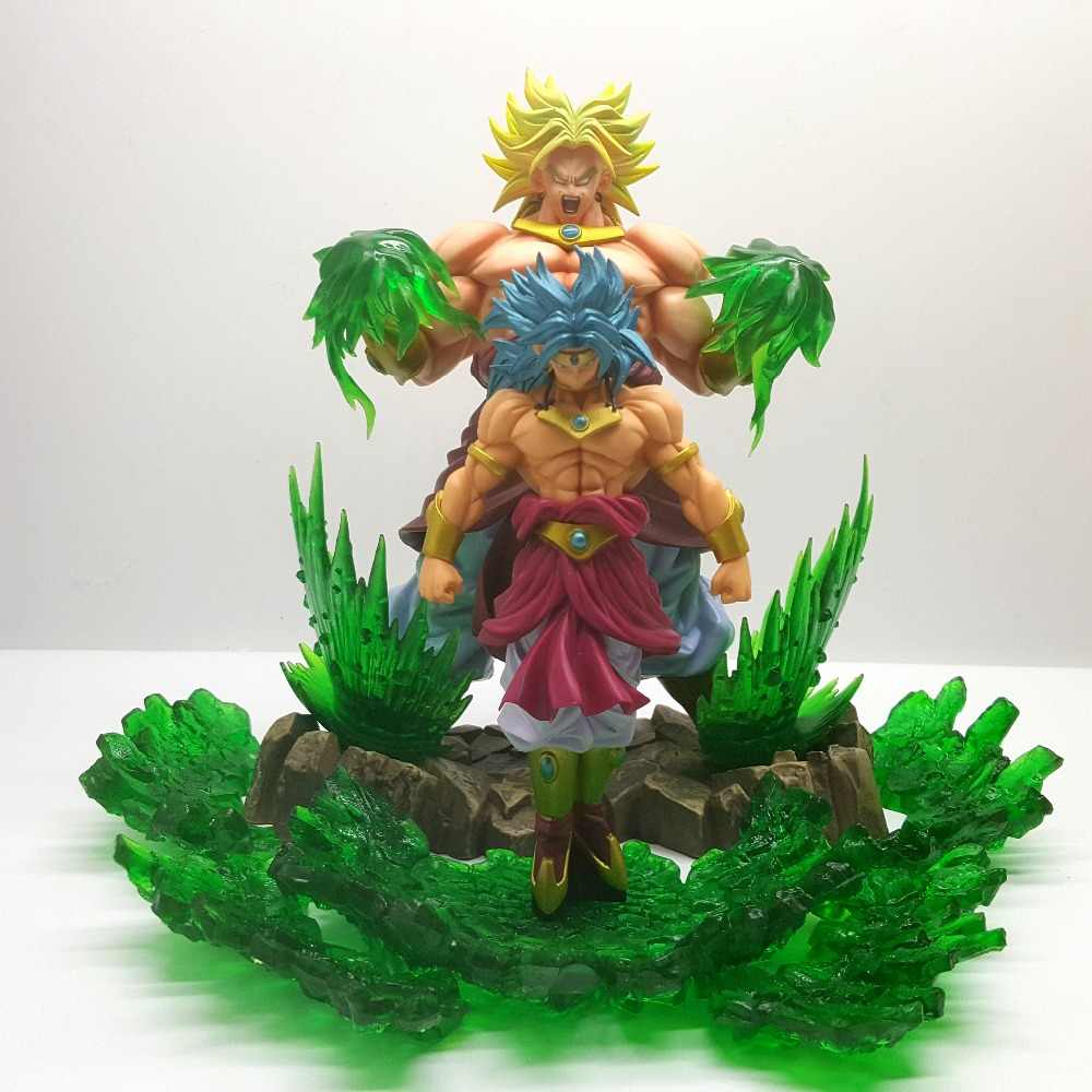 Dragon Ball Z Broly Super Saiyan Evolution PVC Action Figures Anime Dragon Ball Super Broly Movie Goku Model Toy Figurine DBZ
