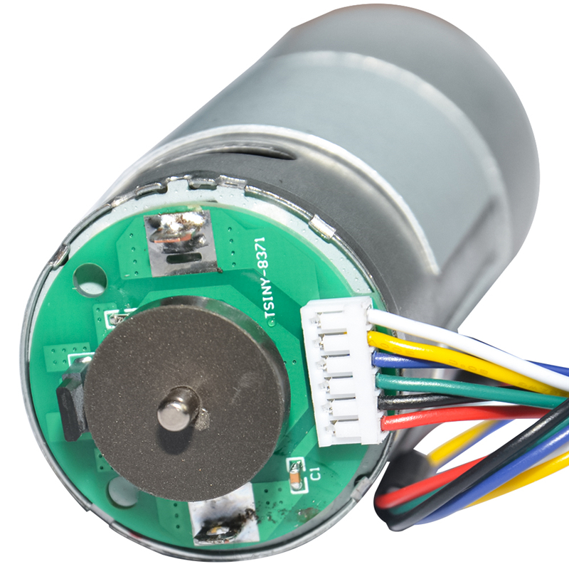 37GB555H DC Gear Motor 12V 24V 10 18 30 55 85 120 170 280 500 900 Rpm Reversible Adjustable DC Gear Motor With Encoder For DIY in DC Motor from Home Improvement