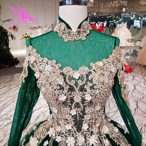 Image 5 - AIJINGYU Hochzeit Kleider Gürtel Derss Satin Ball Kostüm Gürtel Importiert Rustikalen Bräute & Kleid Hochzeit Kleid