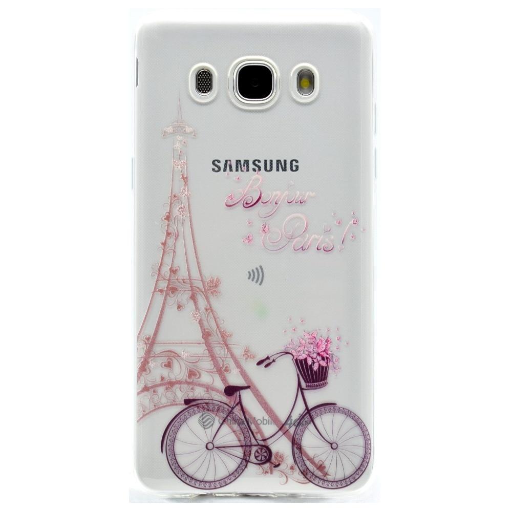 Cute Cartoon Butterfly Girl Tower Bicycle TPU Soft Fundas Case for - Ανταλλακτικά και αξεσουάρ κινητών τηλεφώνων - Φωτογραφία 3