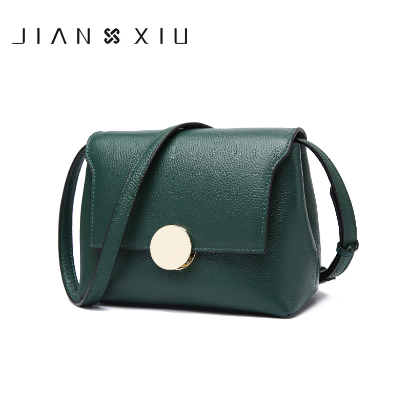 Women Messenger Bags Shoulder Crossbody Fashion Genuine Leather Bag Bolsas Bolsa Sac Femme Bolsos Mujer Bolso 2017 New Small Bag 2017 fashion all match retro split leather women bag top grade small shoulder bags multilayer mini chain women messenger bags
