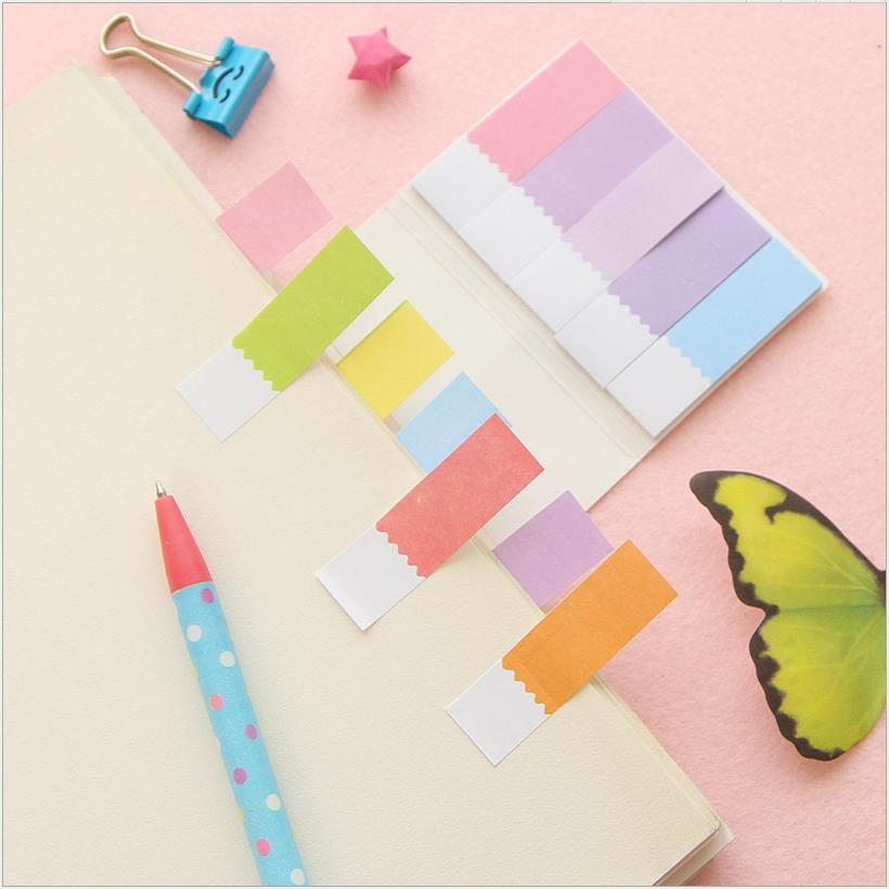 NOVERTY Colorful sticky notes decoration paper memo pad post it Office Bookmark accessories School supplies Stationery 01913