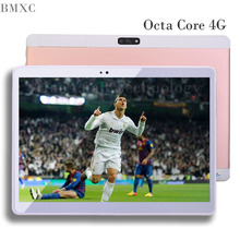 2017 BMXC New 10.1 inch 4G Tablet PC Metal Tablet PCS Octa Core 32GB ROM Dual Camera WIFI GPS  Android tablet Dual SIM 10