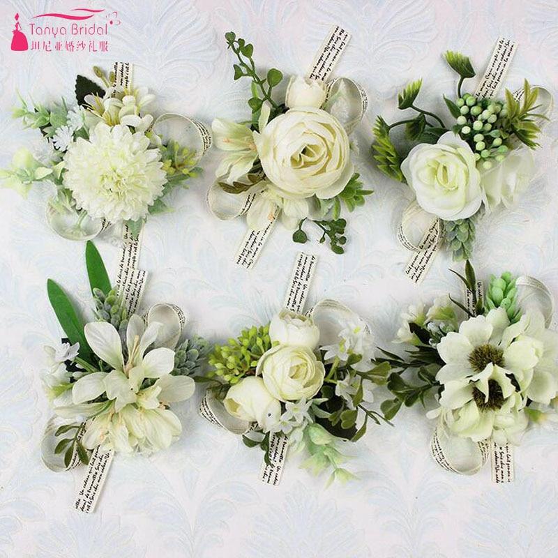 Wedding Flowers Men: Aliexpress.com : Buy Fairy Wedding Flowers Ivory
