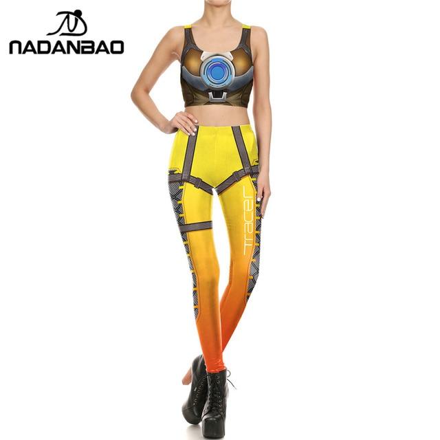 New Women leggings Super HERO Tracer Leggins Printed leggins Woman Clothings