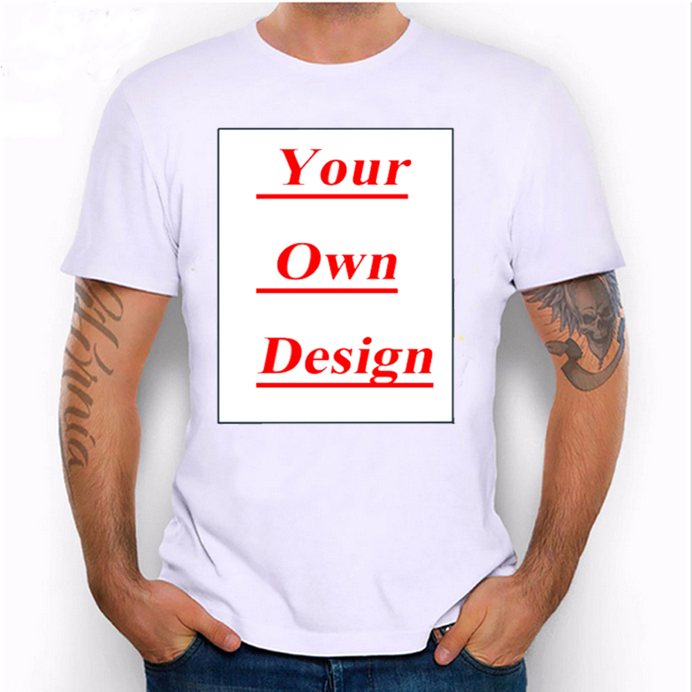 Design your own t shirt good quality - Unique Customized Men S T Shirt Print Your Own Design Casual Tops Boy Funny Tees Animal Cartoon