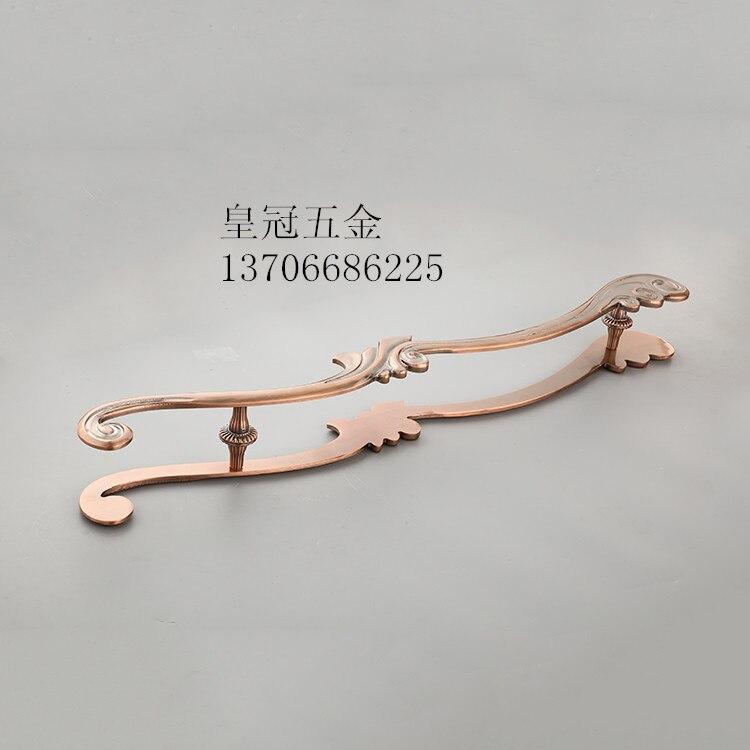 Door handle, modern antique wooden door, handle, carving handle, heavy sliding door handle, glass door handle door