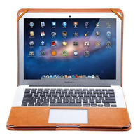 2017 Luxury PU Leather Stand Cover Case For MacBook Pro 2016 13 Touch Bar No Touch