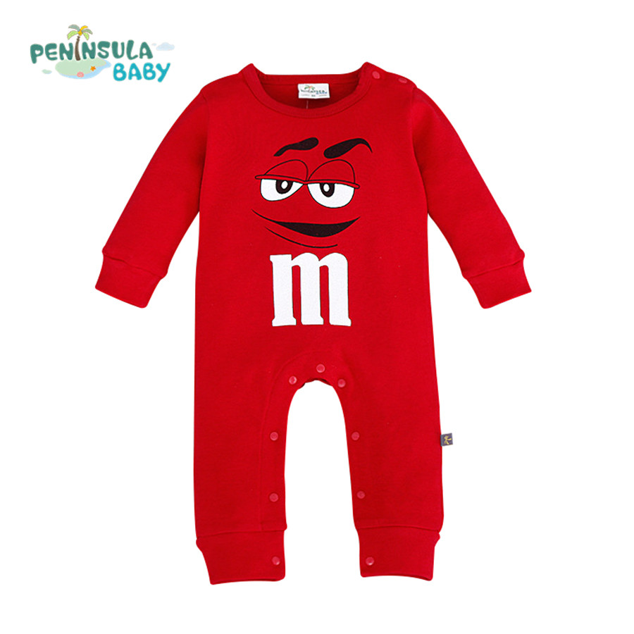 2016 Infant Clothes Autumn NewBorn Baby Rompers Girls Clothing Costumes Cartoon Funny Kids Jumpsuit New Born Boys Clothes newborn baby clothes cute cartoon baby rompers sleeveless one piece jumpsuit baby girl romper infant clothing baby costumes boys