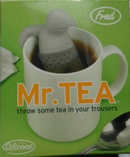 100 PCS Mr. Tea Infuser box retail package just the retail box,not contain the Mr. tea H-78