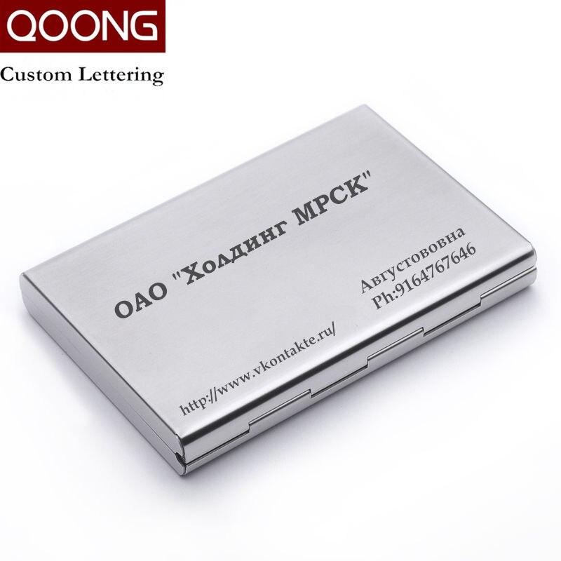 Нержавеющаясталь RFID Блокировка держатель кредитной карты бумажник ID Card Case защитить ваш банк дебетовой, идентификационные карточки из мет...