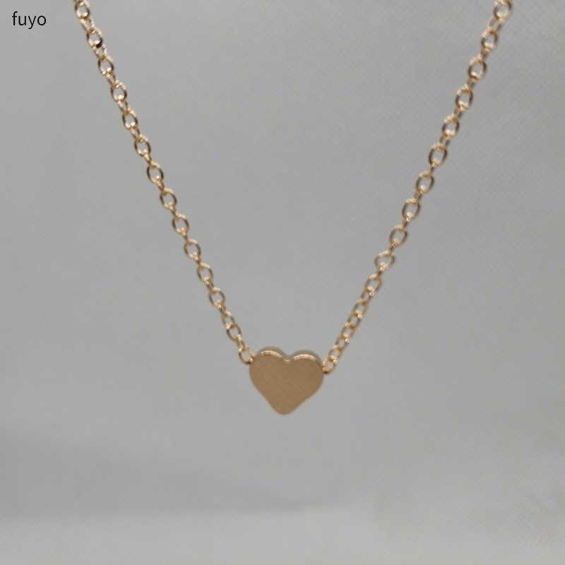 Caliente cristal corazón estrella Luna Bar gargantillas con cuentas de hojas para mujeres bohemio Chocker collar amor COLLAR COLGANTE en el cuello regalos