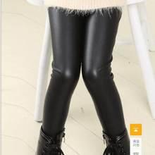 d72acd679a6f Promoción de Las Niñas Pantalones De Cuero - Compra Las Niñas ...