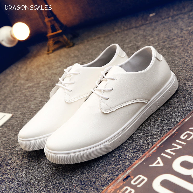 2017 Zapatillas Hombre Sapato Masculino 2017the Spring Of New England Men's Leather Shoes Lace All-match Fashion Casual Flat zapatos hombre sapato masculino couro new fashion high quality brand lace up genuine leather mens casual shoes multi color blue