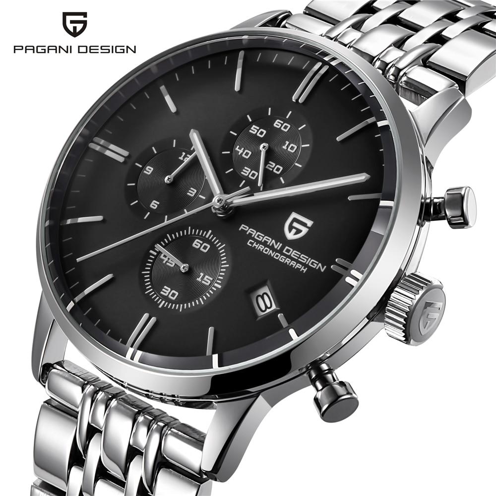 Fashion Casual Watch Men Waterproof 30m Simple Quartz Watches Luxury Brand PAGANI DESIGN Relojes Hombre 2018 Relogio Masculino