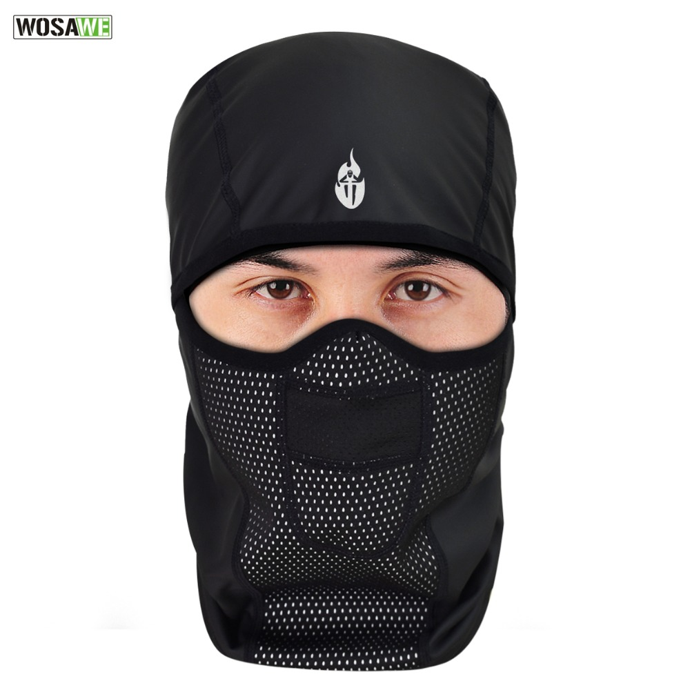 776a54768d99e US $9.99 40% OFF|WOSAWE PU Leather Waterproof Motorcycle Bandana Thermal  Thermal Warm Up Balaclava Motocross Skiing Face Mask Neck Scarf Caps-in ...