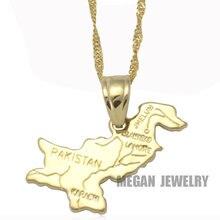 95a17ef80190 Zkd Pakistan carte de cuivre pendentif collier, pays carte bijoux