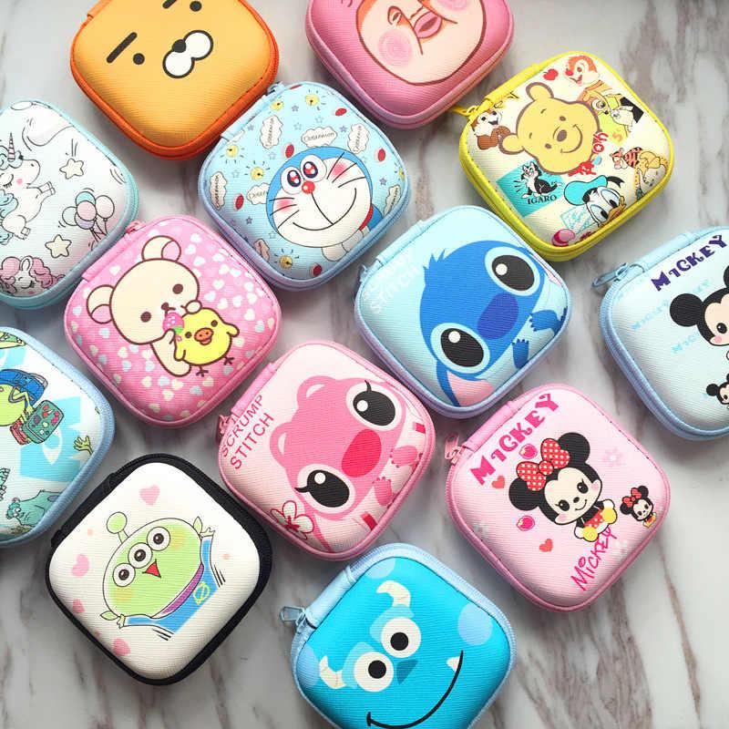 דיסני ילדי cartoon מטבע PU ארנק מיקי עכבר יפה מטבע תיק ילדה ילד מתנת תיק אחסון מפתח אוזניות תיק ילד תיבת מנות
