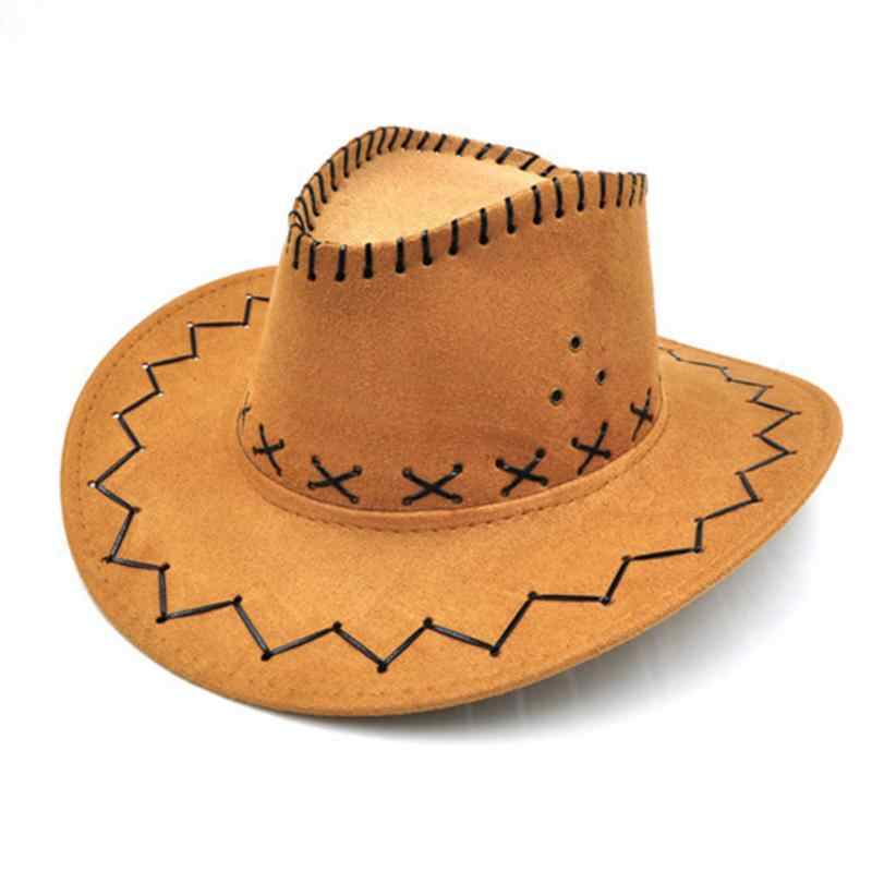 ... New Arrival chapeau Cowboy Hats kids Fashion Cowboy Hat For Kid Boys  Girls Party sombrero leather ... ae1f4150d05a
